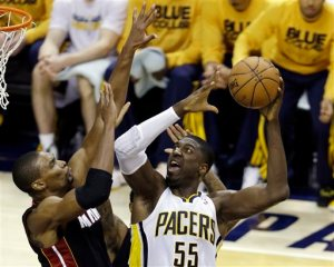 Bosh has been no match for Hibbert this series.