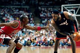 This might have been the only way to silence those who want to compare LeBron and MJ.
