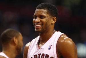 The Raptors have been all smiles since the departure of Rudy Gay.
