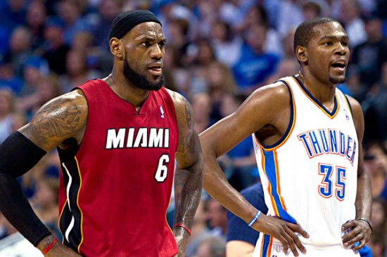 KD and LeBron on the same team would be must-see TV.