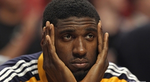 Roy Hibbert's time in Indiana may be up.