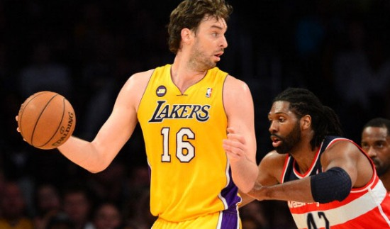 Gasol will probably spend most of his time at the high post, directing the Bulls offense.