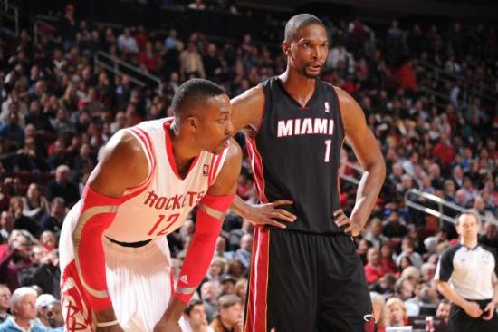 Would Bosh and Howard really be that tough to deal with?