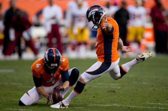 Matt Prater was the best kicker in the NFL last season, but don't be that person that spends a valuable pick on him.