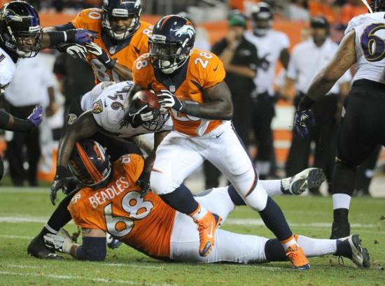 Montee Ball should be in line for a breakout season, but he's being drafted very high for such an unproven player.