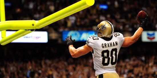 Jimmy Graham holds a huge advantage over other tight ends.