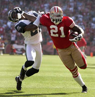 Is this the year Frank Gore loses the starting gig in San Francisco?